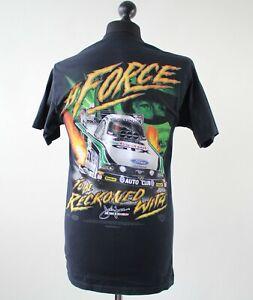 JOHN FORCE GTX DRAG RACING NHRA SHIRT NASCAR SIZE M