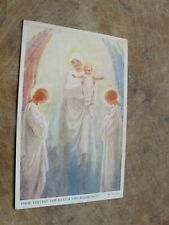Artist Margaret Tarrant Postcard - Angels with child - Christian interest