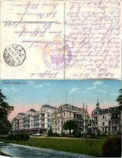 59604;Baden Baden Stephanienbad COLOR 1915
