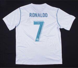 Cristiano Ronaldo Signed Real Madrid Jersey - Beckett COA
