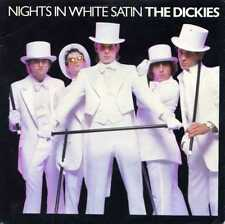 "DICKIES ""NIGHTS IN WHITE SATIN"" ORIG UK 1979 M-/M- WHITE VINYL"