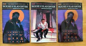 House of Slaughter 1 Covers A, B, C - FOIL Intermix Var Boom! Studios NM