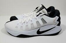 Nike Hyperdunk 2016 Low Mens Basketball Shoes White Black Size 11.5