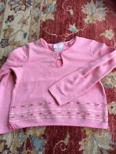 Laura Ashley Girls Pretty Pink Top Age 9 Years Excellent Condition