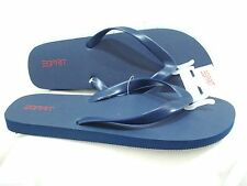 ESPIRIT Men's Caribbean Flip Flop Navy Size 12 New