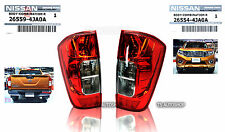 PAIR BACK TAIL LAMP LIGHT GENUINE FOR NISSAN NAVARA NP300 D23 2WD 4WD 2015-ON