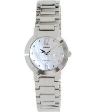 Casio LTP1191A-7A Ladies Stainless Steel Casual Dress Watch Round Quartz White