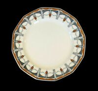 Beautiful Royal Doulton Claremont Dinner Plate, Orange Circa 1912