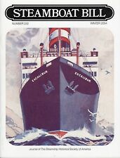 """#252 """"FOUR ACES""""  History - """"Steamboat Bill"""" Winter 2004 - SSHSA MAILS WORLDWIDE"""