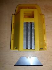 Replacement Stanley Utility Knife Blades x100 BN in Box 99e Irwin Carpet Steel