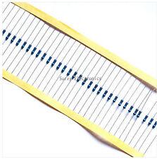 100pcs 1/4w Watt 470K ohm 470Kohm Metal Film Resistor 0.25W 4700000R 1%
