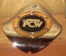 PCW Panther Wheels Chrome Custom Wheel Center Cap #10X15 (1)