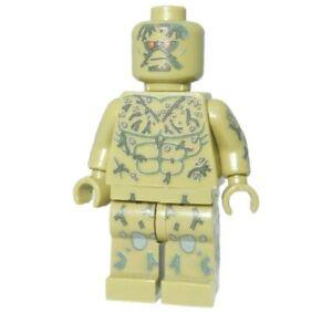 **NEW** Custom Printed - SWAMP THING - DC Universe Building Block Minifigure