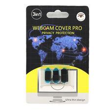 3x Webcam Cover Abdeckung Sichtschutz Notebook PC TV Notebook Handy, K9