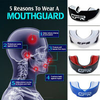 Mouth Guard Gum Shield Teeth Protector Boil Boxing Mouthpiece Football MMA Rugby