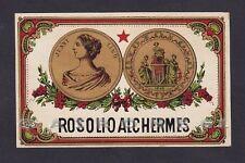 ETICHETTA VINO ROSOLIO ALCHERMES JENNY LIND - WINE LABEL