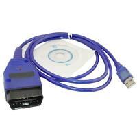 OBD2 II OBD USB Cable KKL VAG-COM 409.1 Diagnostic Scanner for VW/Audi/Seat VCDS