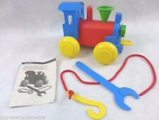 Tupperware TupperToys Build'N play Train New in Original Box Great Holiday Gift!