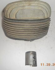 BULTACO LOBITO CYLINDER , HEAD & PISTON 125 MK III MODEL 62 10 026 031 (2) mk3
