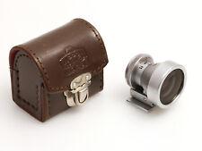 Nikon 2.8cm Sucher mit Lederetui für die Nikon Rangefinder Kameras