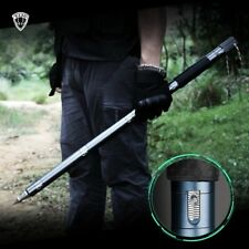 Survival Cane Tactical Walking Stick Safety Walking Outdoor Camping Hiking Pole