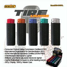 x10 Cigarette Lighter Electronic Refillable Tire Design Wholesale