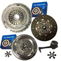 SACHS CLUTCH & DUAL MASS FLYWHEEL, CSC &BOLTS FOR AUDI A3 HATCHBACK S3 QUATTRO