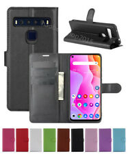 NEW Leather slot wallet stand flip Cover Skin Case For TCL 10 5G