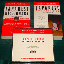 Living Language Basic Japanese Complete Course Revised & Updated 40 Lessons 3CDs
