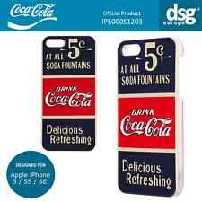 Coca-Cola Genuine Old 5 Cents Case Cover Shell for Apple iPhone 5 / 5S / SE