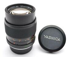 Yashica Lens ML 2,8 / 135 mm C Tele Objektiv Contax C/Y Mount + Cap j53