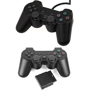 Wired Or Wireless Game Controller Gamepad Joypad for Sony PS2 & Playstation 2