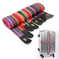 Correa ajustable de equipaje maleta Cruz de viaje bolsa de almacenamiento de equipajes Cinturón