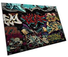 GRAFFITI WALL WALL ART LARGE A1 POSTER 33 X 23 INCH