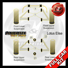 Lotus Elise Powerflex Black Complete Bush Kit