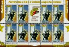 Moldova stamps! 60th Anniversary of the Victory over Faschism, MNH, 2005, 9v