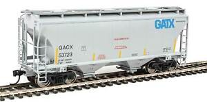 WALTHERS MAINLINE 910-7553 TRINITY 3281 2 BAY COVERED HOPPER GATX  RD# GACX53723
