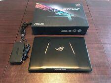 "ASUS ROG Strix Gaming Laptop 15.6"" GL502VS-DB71 GTX 1070 16GB RAM Excellent"