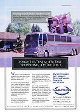 1991 Prevost H3-40 Marathon Coach - Original Advertisement Car Print Ad J316