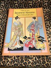 Ming-Ju Sun Japanese Kimono Full Color Paper Doll Book Uncut 1986