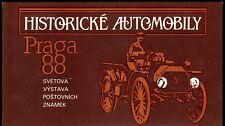 Tschechoslowakei 2947/61 ** postfrisch MH Automobile Praga 88 (3340)