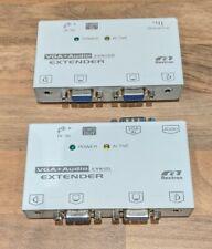 Rextron VGA and Audio extender EVA02R EVA12L