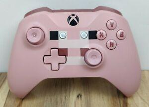 Microsoft Xbox One Wireless Controller Minecraft Pig 1708 Pink - Sensitive D Pad