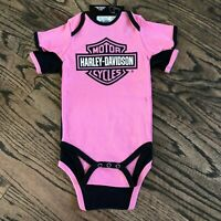 Harley-Davidson® Girls MY GRANDPA RIDES A HARLEY 2-Pc Creeper Shirt Set 1103054