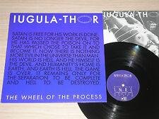 "IUGULA-THOR - THE WHEEL OF THE PROCESS - MAXI-SINGLE 12"" ITALY"