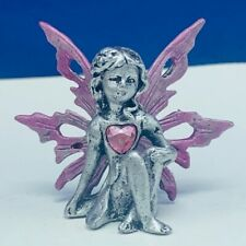 Fairy Figurine pewter birthstone fairies pixie elf figurine October Tourmaline