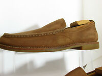 UGG Australia Via Pointe Slip On Mens Suede Leather Shoes Size 7.5