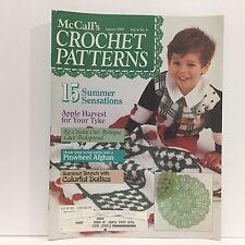 McCall's Crochet Patterns 15 Summer Sensations, July/August 1992 - Vol 6, No 4