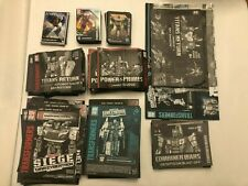Huge Lot Of Transformers Instructions Manuals and Character Cards Over 100 Piece