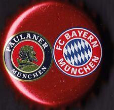 FC BAYERN MÜNCHEN FANBIER PAULANER 2014 - KRONKORKEN / BOTTLE CAP / CROWN CAP